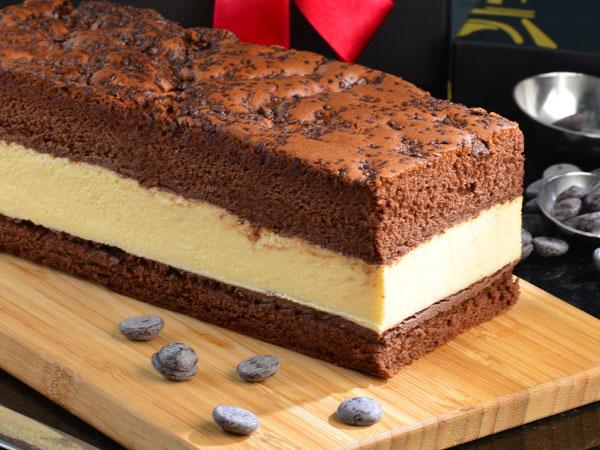 純手工巧克力牛奶蛋糕